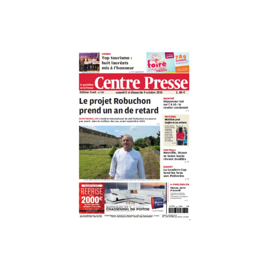 Centre Presse présente le geste fraîcheur du déodorant bio Clémence et Vivien