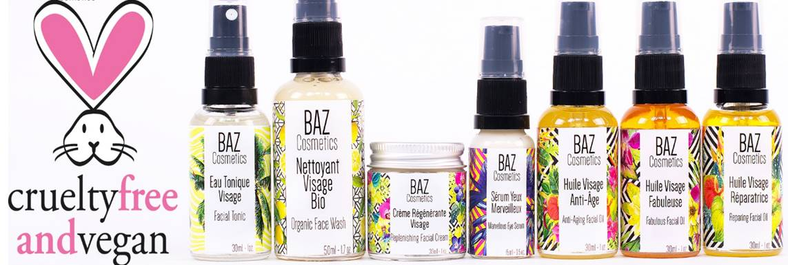 BAZ cosmetics, la nouvelle marque de produits de soin végan, cruelty-free et 100% naturels