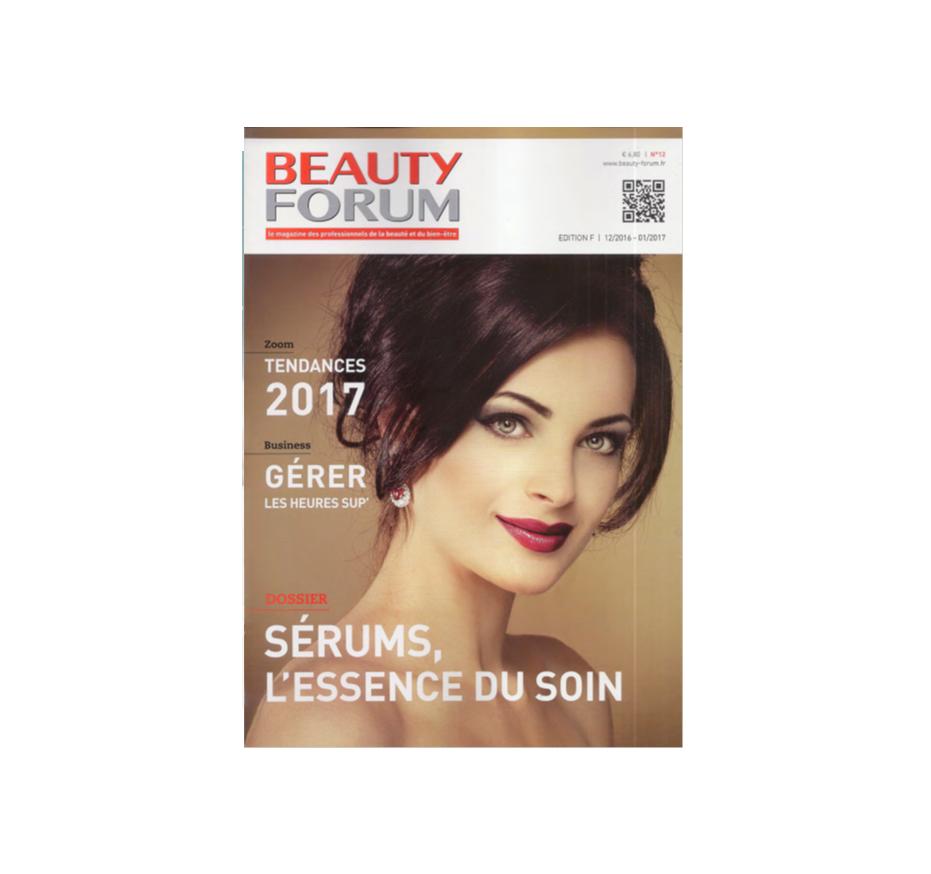 Le néosérum Guérande présenté par Beauty Forum, dossier sérum