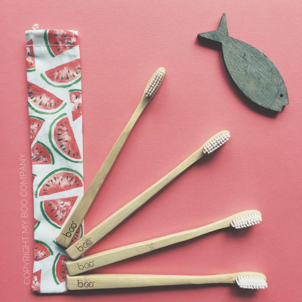 Devenez éco-responsable en adoptant les brosses à dents de My Boo Company !