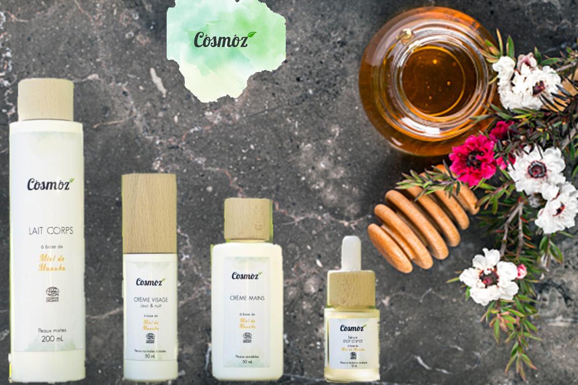 Une nouvelle marque au miel de Manuka arrive sur Doux Good : Cosmoz