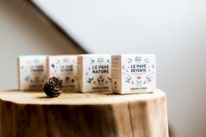 Nouvelle gamme de savons Atelier Populaire - les pavés