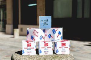 Pavé parisien - Atelier Populaire - savon saponifié à froid