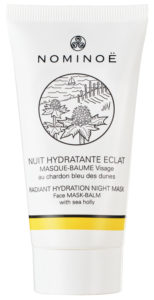 Nominoë - Masque visage - Nuit Hydratante Eclat - cosmétique marine made in France