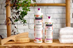 Shampoing et après-shampoing bio sans sulfate Coslys