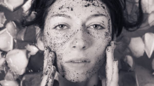 Gommage visage au café Terre de Mars