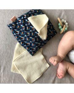 lingettes-lavables-bio-pochette -bébé