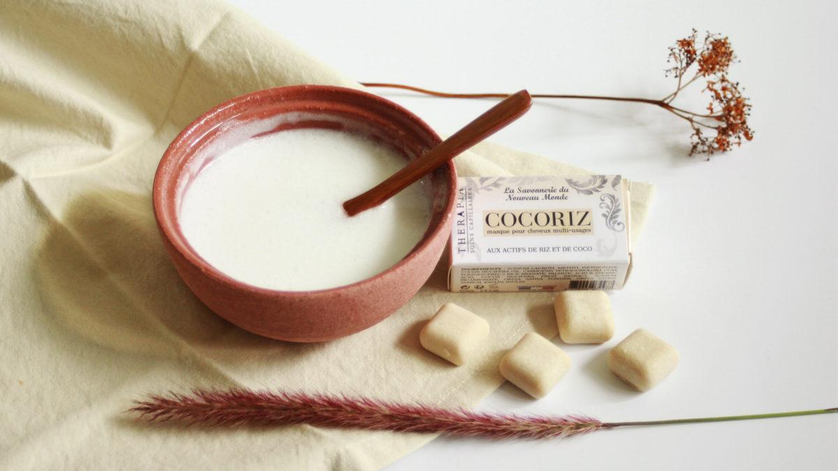 COCORIZ, le masque pour cheveux aux actifs de Riz et de Coco