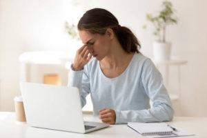 la fatigue commence à se faire sentir sans activité physique