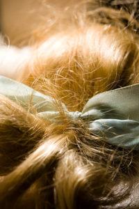 Cheveux hydratés avec les soins La Brumée