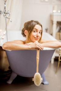 brosse bain pour une pause cocooning